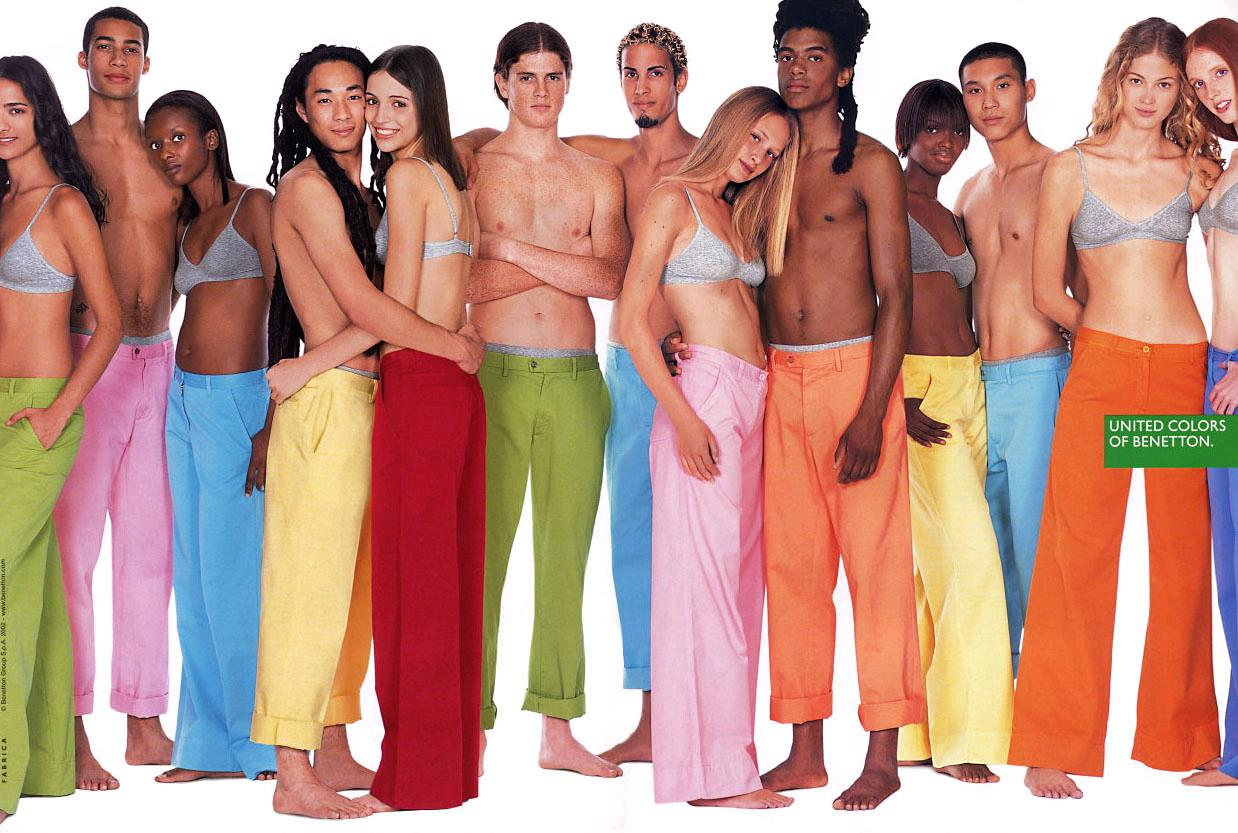 Publicidad de benetton el anuncio como medio de denuncia for Benetton we are colors